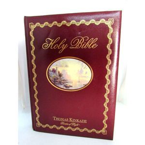 Holy Bible Thomas Kinkade Painter of Light NKJV